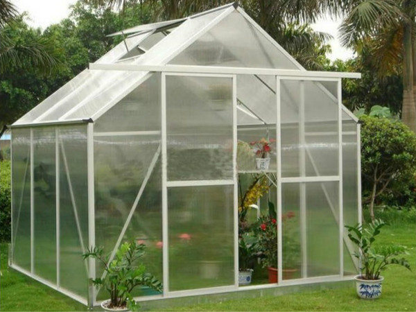 Courtyard greenhouse